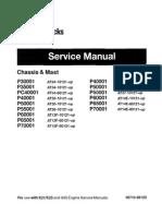 CAT Lift Trucks Service Manual