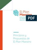 Propuestas y Principios Del Maestro