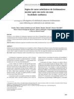 Arraes Et Al 2008 - Investigação Sorológica de Casos Subclínicos de Leishmaniose