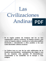 CIVILIZACIONES ANDINAS