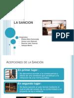 Diapositiva Final de Sancion