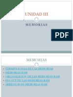 MEMORIAS,almacenamiento, electronica digital