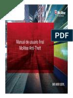 Manual McAfee Anti-Theft