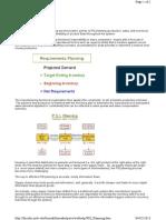 PSI Planning
