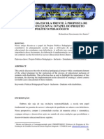 07. Os Desafios Da Escola Frente a Proposta de Educao Inclusiva o Papel Do Projeto Poltico Pedaggico
