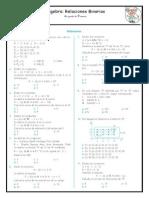 Algebra Relaciones Binarias