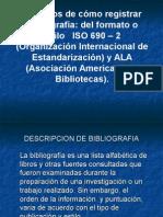 Bilbiografia Modelo ISO