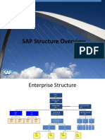 sap enterprise structure