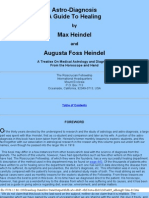 Max Heindel - Diagnosis, A Guide to Healing