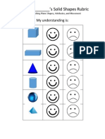 solid shapes self-assessment