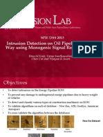 SPIE DSS 2013 Presentation