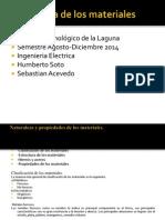Naturaleza y Propiedades de Los Materiales electricos