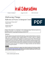 Embracing Change Article as Published