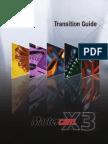 MCAMX3 Transition Guide