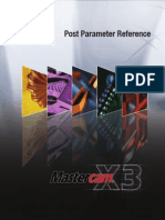 McamX3 Post Parameter Ref
