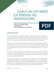 EL DUELO EN LOS NIÑOS (LA PÉRDIDA DEL PADRE/MADRE)