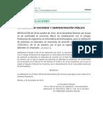 Resolución acuerdo marco CPIIEX