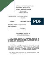 Judicial Affidavit - Rape Case (1)