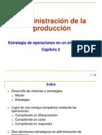 Capitulo 2. Estrategia de Operaciones Global