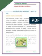 Medidas Por Metodos de Deflexion