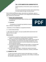 Estructura de La Documentacion Administrativa