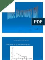 Noise Bandwidth