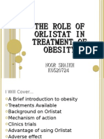 The Role of Orlistat in Treatment of Obesity