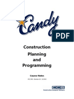 Candy construction planning and programming