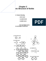 Chapter 2 Atomic Structure of Solids