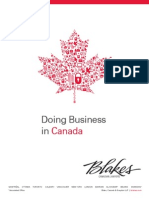 Doing Business in Canada 2014