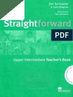 Straightforward Upper-Intermediate Teacher's Book