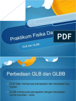 presentasi praktikum GLB GLBB