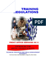 TR Front Office Services NC II11