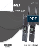 CLS Series Two-Way Radio User Manual