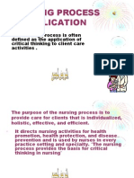 Nursing Process Application1