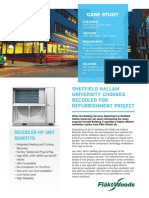 Project Reference - Sheffield Hallam