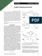 Shear-Transfer Strength of Reinforced Concrete