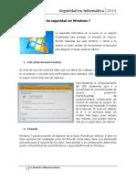 Herramientas de Seguridad en Windows 7