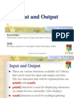Slide 05 - Input and Output