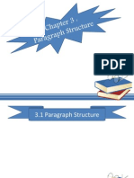 Paragraph Sructure