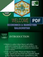 Economics and Marketing balochistan