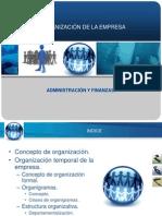 Organización deLa Empresa