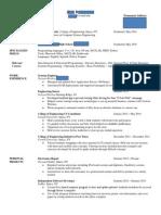 Reddit Resume