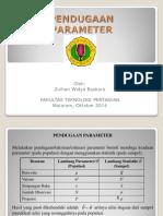 7. Estimasi Parameter