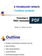 Fertilizer Technology - Li 2012v3