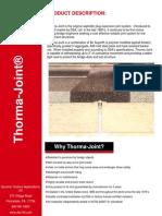 Thorma-Joint Data Sheet