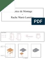 Warré Emile - Notice de Montage Ruche Warré-lumière
