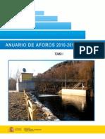Anuario Aforos 2010-2011
