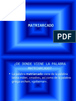 MATRIARCADO