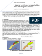 Researchpaper Optimization Study Design of a Reinforced Concrete Building in the Seismic Critical Region in Morocco
